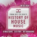 History of House music – Dj Milo Savic – G-Froy – Shurakano