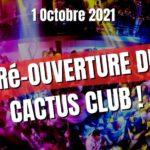 Grande Ré-Ouverture du Cactus Club – Dj Phil Harlet & Friends